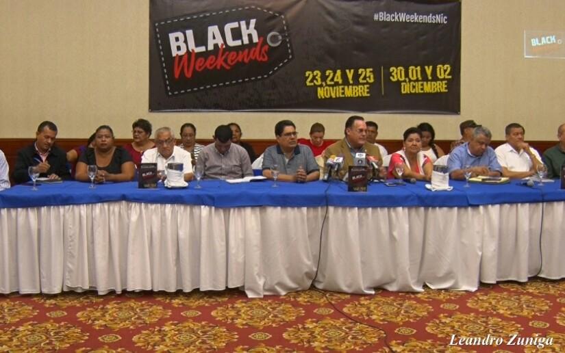 Conimipyme y comerciantes anuncian el Black Weekends 2018 y Feria del Comercio Navideña