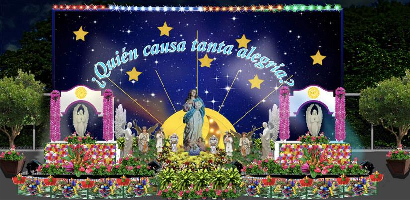 Así lucirán los altares en la Avenida de Bolívar a Chávez