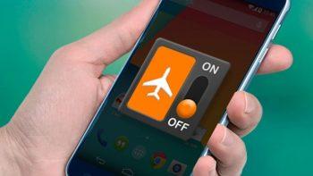 Esta son las ventajas de utilizar el modo avión en tu celular