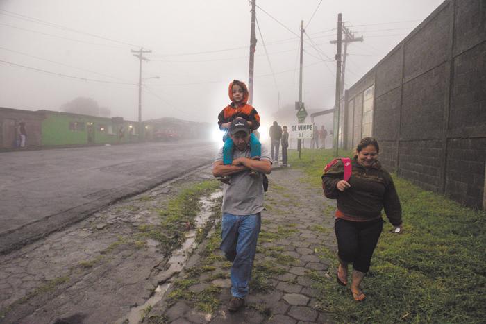 Nicaragua en período de transición de lluvioso a seco propio de la  temporada. - Canal 6