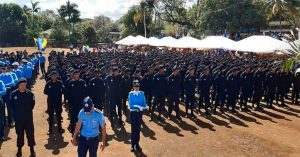 policia nicaragua graduacion 2020