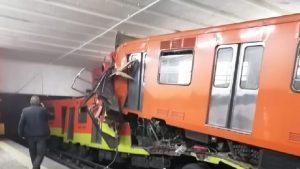 ciudad de mexico trenes choque