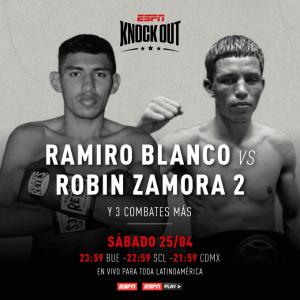 Blanco y Zamora expresan alegría ante velada boxística