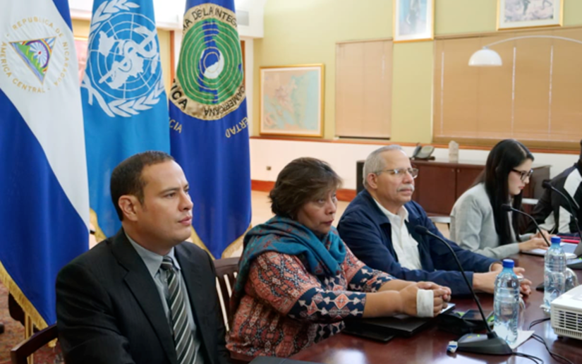 director general de la oms nicaragua