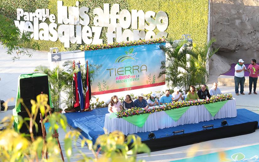 inauguración Expo Feria Madre Tierra