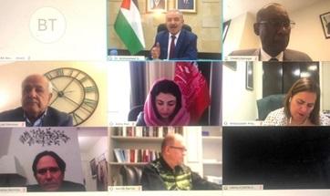 Reunión con primer ministro palestino