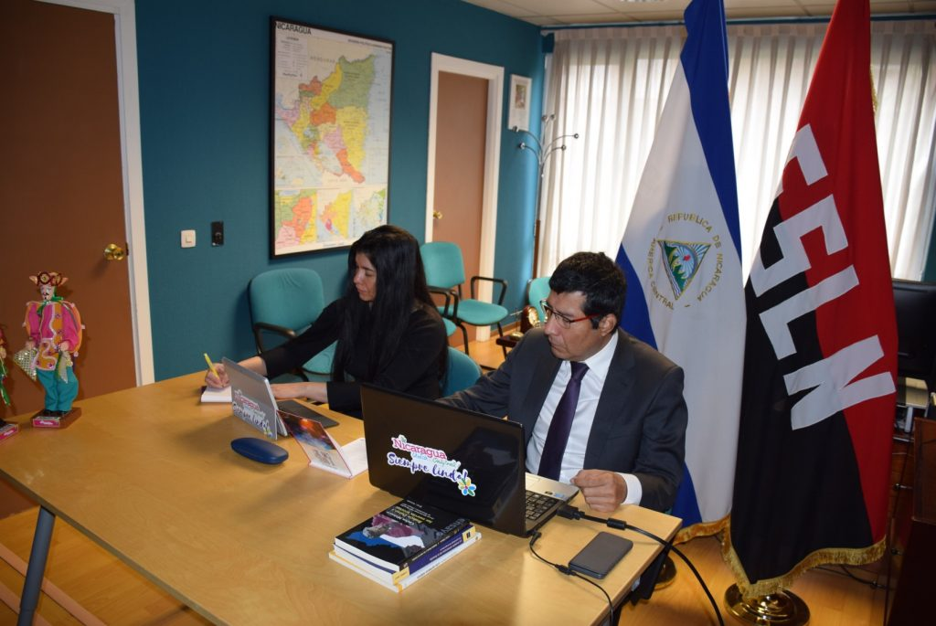 nicaragua reunion camara de comercio de españa