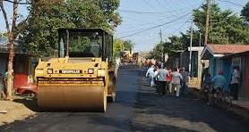 construcción de calles