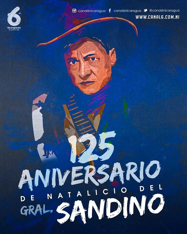 125 Aniversario del Natalicio del General