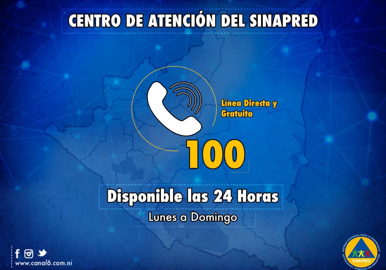 nueva linea directa 100 sinapred
