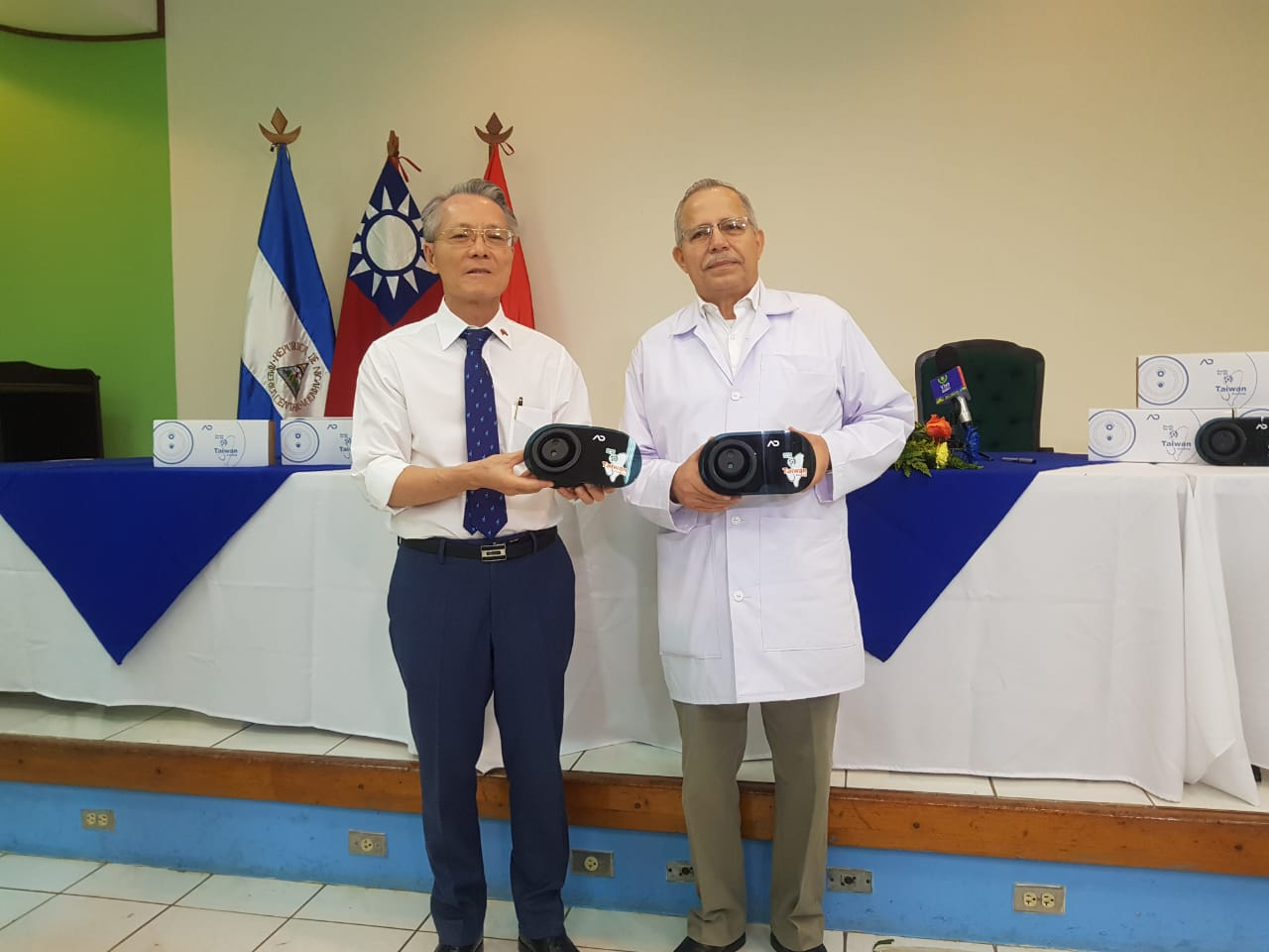 taiwan equipos detectores de temperatura nicaragua