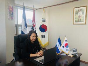 Nicaragua Corea Seminario virtual Crisis COVID