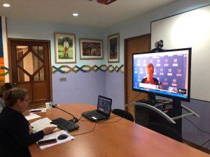 Nicaragua CONICYT Seminario virtual Crisis COVID