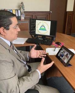 nicaragua en reunion con iica director