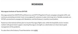 nicaragua lideres en turismo
