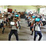 Entregan medios tecnológicos para aulas digitales del colegio de Mulukukú en el Caribe Norte