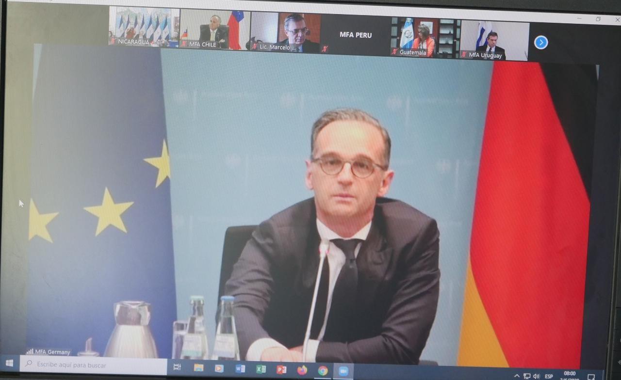 videoconferencia con ministros