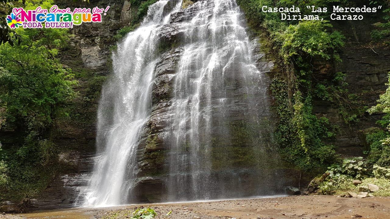 Cascada las Mercedes turismo nicaragua