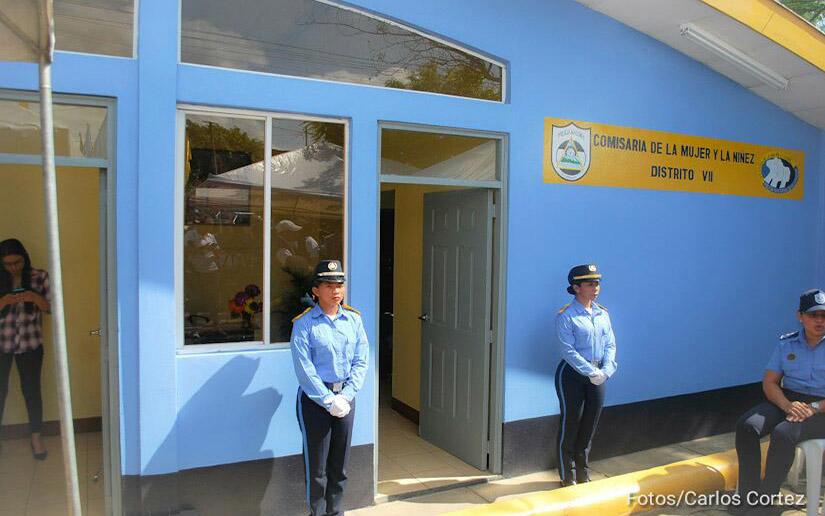 inauguración comisarias de la mujer