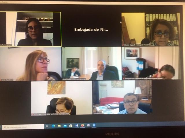 reunión sobre proyecto italia-sica