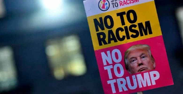 racismot rump protesta
