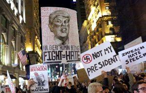 racismo rump protesta