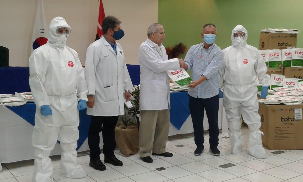 MINSA recibe donación de Handsome Nica, S.A.