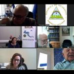 Reunión Virtual de los Embajadores del SICA