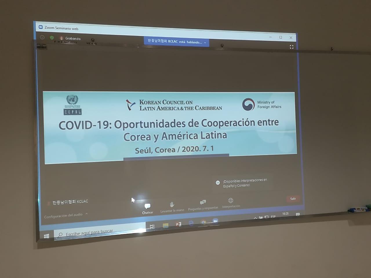 seminario virtual sobre covid-19