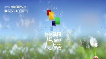 Detalles del Momento: Los 15 de Telesur