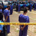 72 delincuentes detenidos por delitos de alta peligrosidad