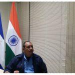 Policía de Nicaragua en seminario organizado por el Gobierno de la India