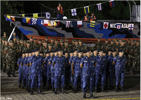 fuerza naval aniversario 40 nicaragua