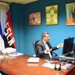 Nicaragua en reunión con ecologista y escritora española