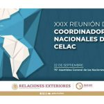 Nicaragua en la XXIX Reunión de Coordinadores Nacionales de la CELAC