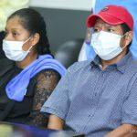 Cra. Rosario envía abrazo solidario a madre de niñas asesinadas en Mulukukú
