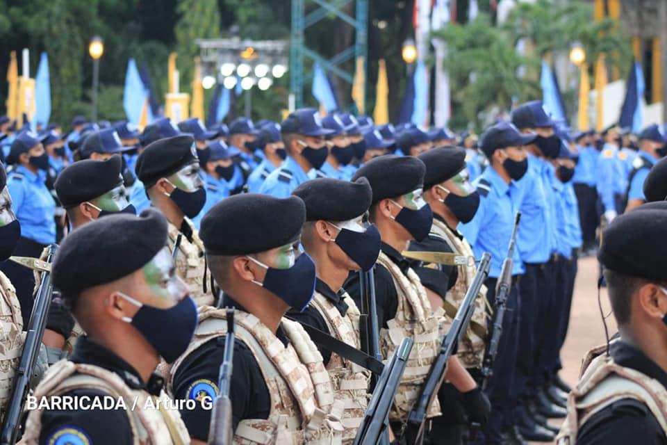 aniversario 41 policia nacional nicaragua
