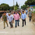 ALMA ejecuta mejoramiento vial en el Distrito I de Managua