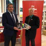 Embajador de Nicaragua visita el Instituto Cervantes en Roma
