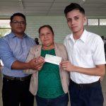 Gobierno de Nicaragua entregará bono de bachilleres en noviembre