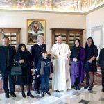 Audiencia del Papa Francisco a la Embajada de Nicaragua ante la Santa Sede