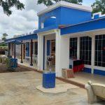 Continúa reconstrucción de colegios afectados por huracanes en Nicaragua
