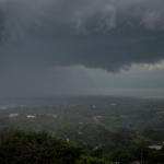 Eje de vaguada podría ocasionar lluvias en algunas zonas del país