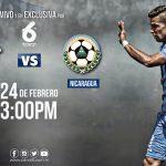 Partido amistoso Guatemala vs Nicaragua en vivo por Canal 6