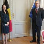 Nicaragua: Embajadora en Bélgica presenta Copias de Estilo