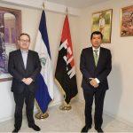 Presidente de las Artes Escénicas visita la Embajada de Nicaragua en España