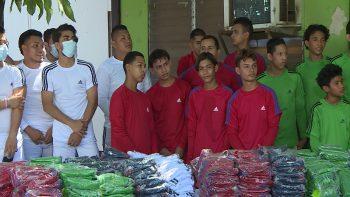 MINJUVE entrega uniformes deportivos a atletas nicaragüenses
