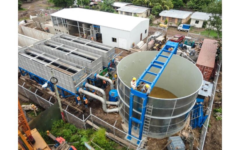Continúan mejorando servicio de agua potable en San Juan del Sur