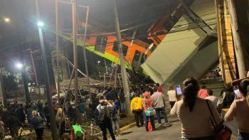 Al menos 23 muertos por el derrumbe de un tramo del metro de Ciudad de México
