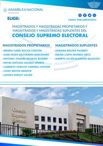 magistrados asamblea nicaragua